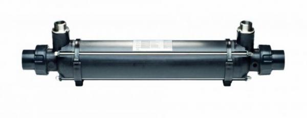 Wärmetauscher Plastic Line Dapra mit Titanwellrohr