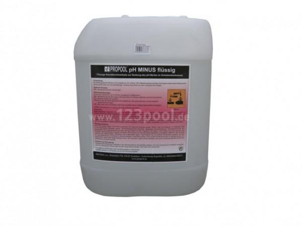 pH-Minus flüssig Kanister à 25 kg