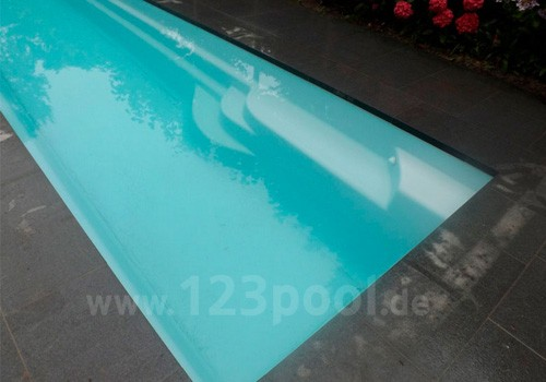GFK-Pool LANE mit Technik-Paket in drei Größen
