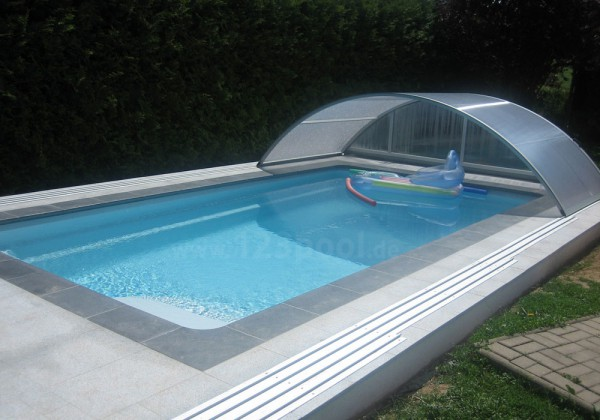 GFK-Pool UNIQUE 7 mit Technik-Paket 710 x 360 x 150 cm