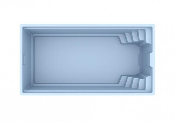 NAUTILUS-Pool OLYMPIA 620 x 330 x 150 cm