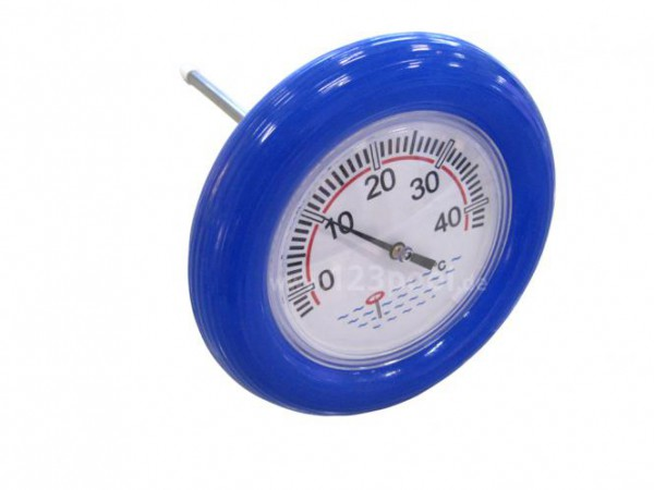 Pool-Thermometer mit Schwimmring