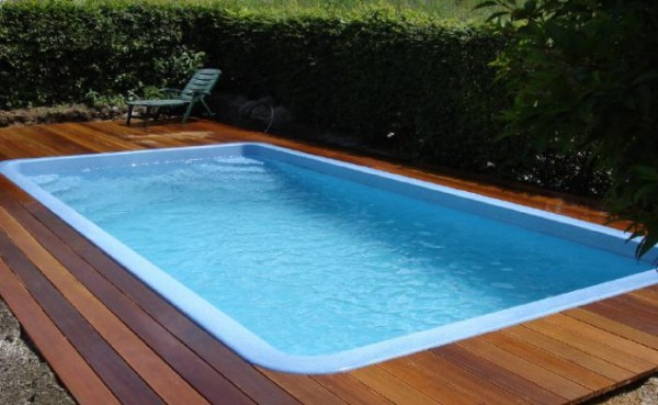 Ceramic-Pool FLORIDA 600 x 302 x 148 cm mit Technikpaket