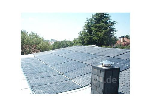 OKU Solarabsorber-Anlage Komplett-Sets mit autom. Regelung