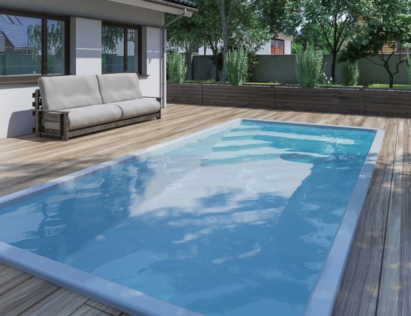 NAUTILUS-Pool FAMILY 560 x 270 x 140 cm mit Pooltechnik-Paket