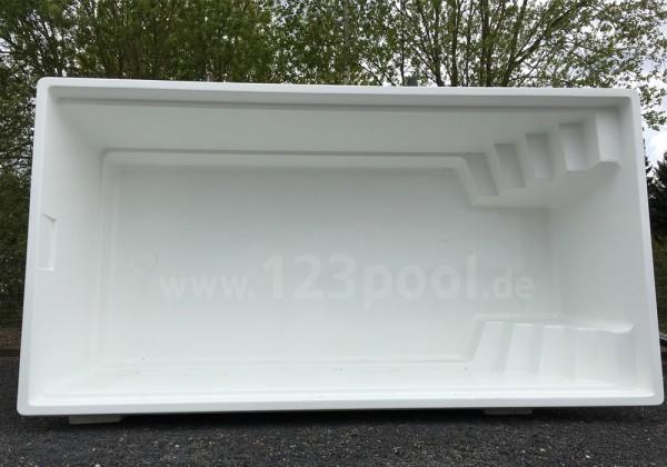 OLYMPIA 620 x 330 x 150 cm Pool-Set mit Wärmepumpe und mehr ...