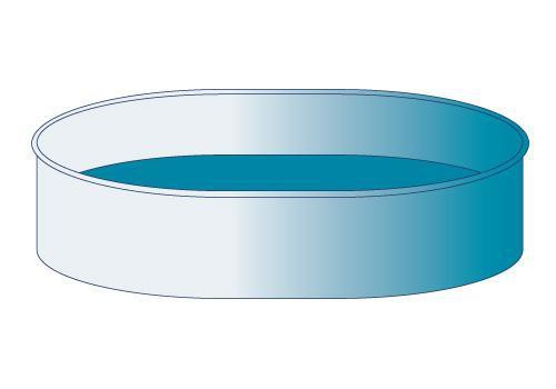 Solar-Plane für Ovalpools