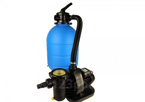 Sandfilteranlage Serie TM mit Pumpe Aqua Plus