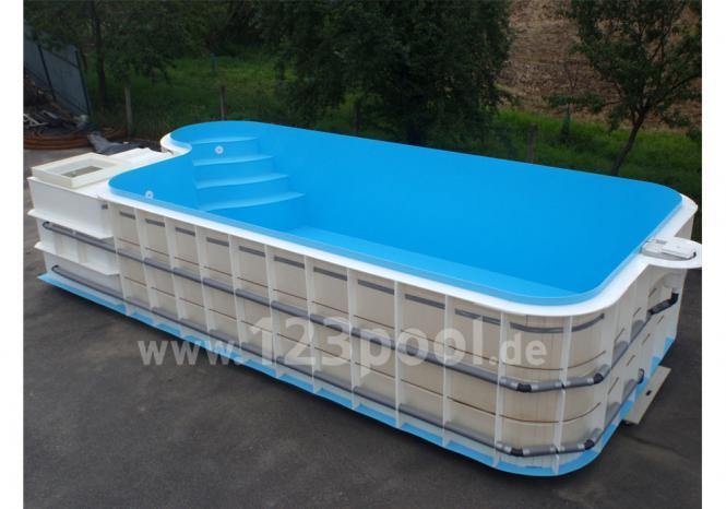 Schwimmbad selber bauen