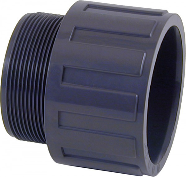PVC-Übergangsmuffe Klebeanschluss/Außengewinde