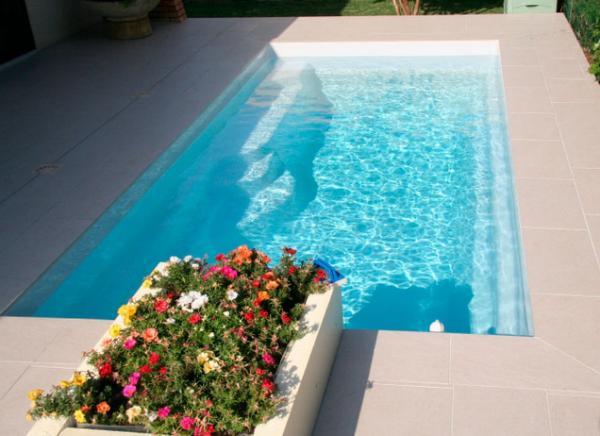 GFK-Pool SMART LANE mit Technik-Paket 475 x 210 x 150 cm