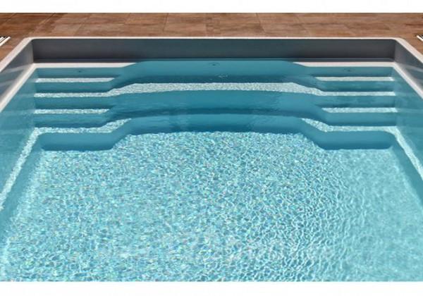 NAUTILUS-Pool SOLARIS 550 x 300 x 150 cm mit Pooltechnik-Paket