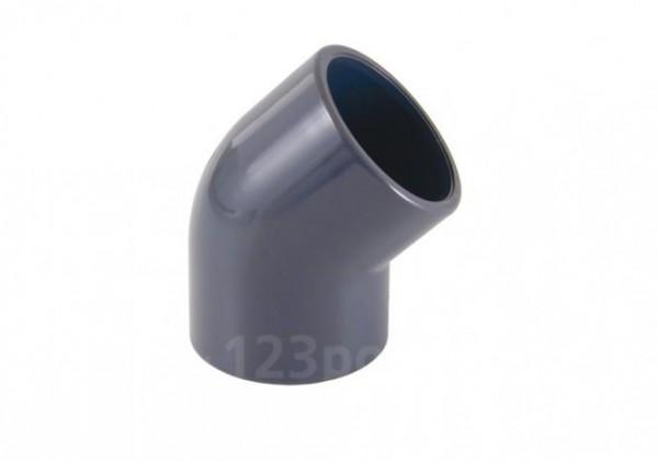 PVC-Winkel 45° Klebeanschluss