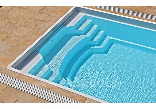 NAUTILUS-Pool ERATO 800 800 x 380 x 150 cm