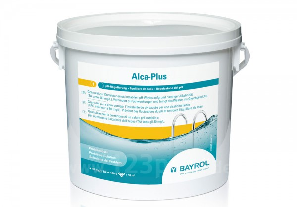 BAYROL Alca-Plus zur pH-Stabilisierung