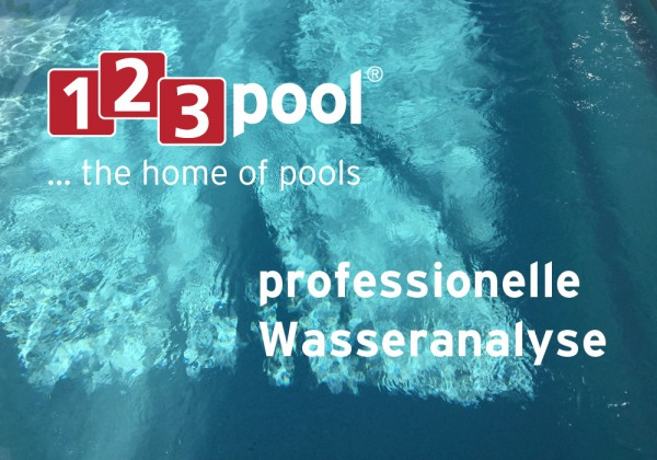 Professionelle Poolwasser-Analyse