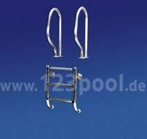 Pool-Einbauleiter DELUXE zweiteilige Bauform