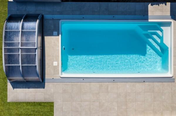 NAUTILUS-Pool URANUS 750 x 380 x 150 cm mit Pooltechnik-Paket