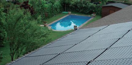 OKU Komplett-Solarset A9 mit 9 Absorbern und autom. Regelung