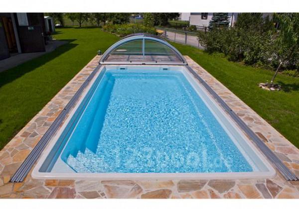 NAUTILUS-Pool AURORA 750 x 375 x 150 cm