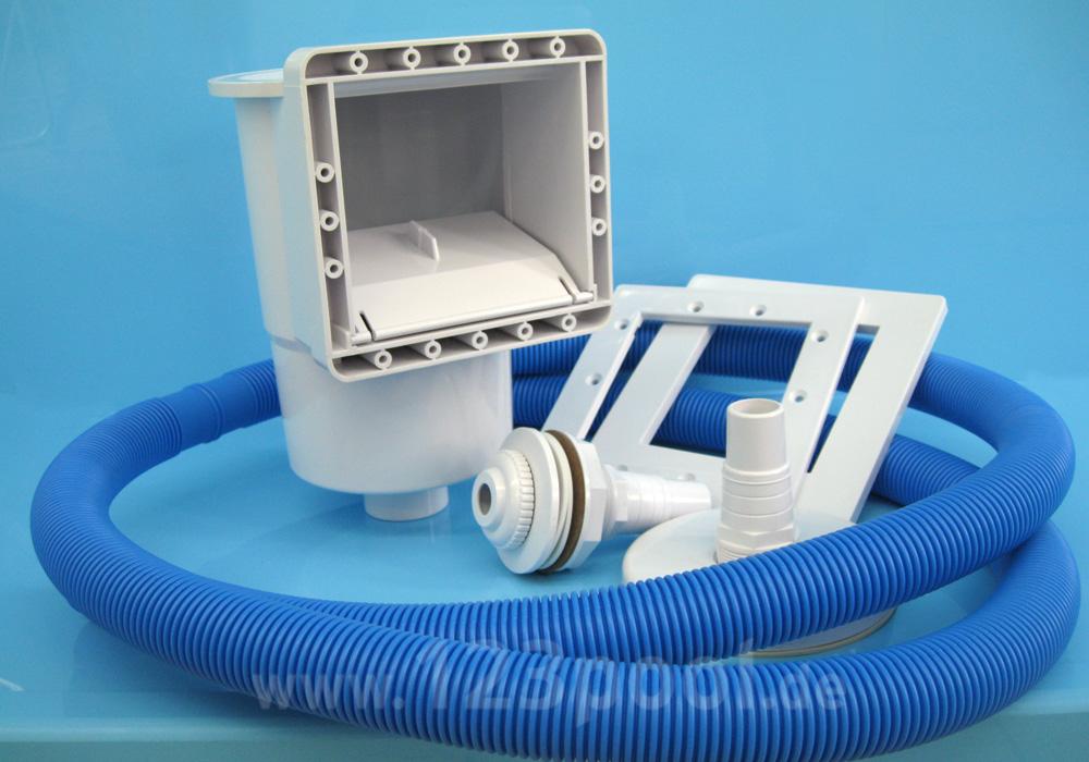 skimmerpaket 1001 d sen skimmer pool zubeh r 123pool the home of pools. Black Bedroom Furniture Sets. Home Design Ideas