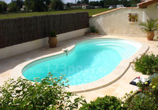 gfk pool gala mit technik und ausstattungs paket 740 x 340 x 150 cm gfk pools ga piscines. Black Bedroom Furniture Sets. Home Design Ideas