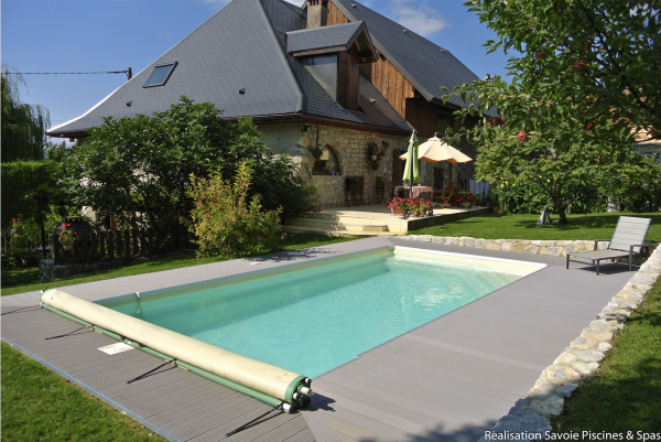 GFK-Pool CÉLESTINE 6 mit Technik-Paket 600 x 300 x 146 cm