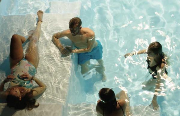 GFK-Pool KUBYKA mit Technik-Paket 830 x 390 x 150 cm