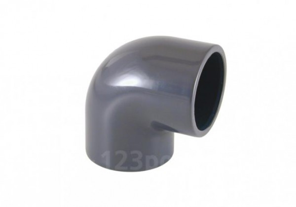 """PVC-Winkel 90°, 2 x Innengewinde 1 1/2"""""""
