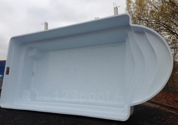 GFK-Pool ROMA mit Technik-Set 760 x 350 x 155 cm