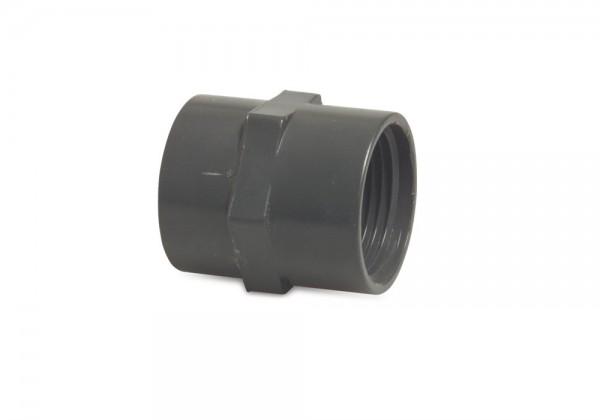 PVC-Übergangsmuffe Klebeanschluss/Innengewinde
