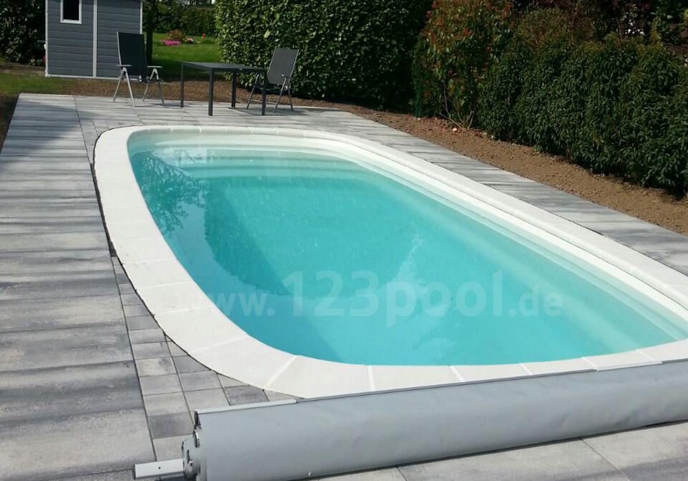 gfk pool s 720 mit technik und ausstattungs paket 720 x 320 x 145 cm gfk pools ga piscines. Black Bedroom Furniture Sets. Home Design Ideas