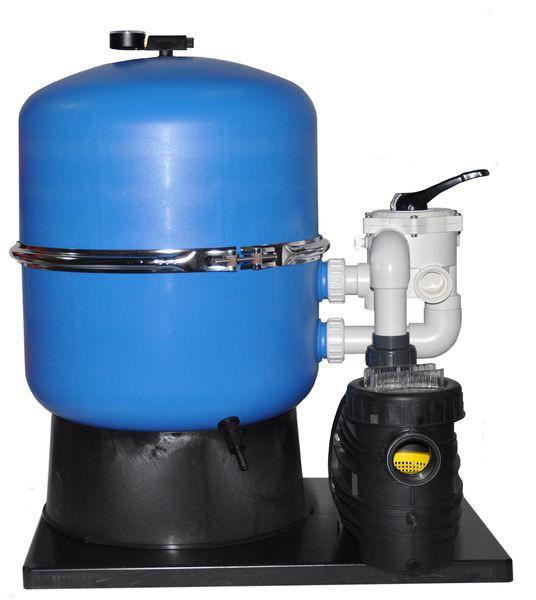 Sandfilteranlage HAWAII 400/500/600 mit zweiteiligem Filterkessel