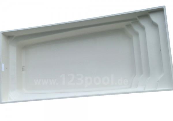 GFK-Pool OCTALIA mit Technik-Paket 850 x 365 x 148 cm