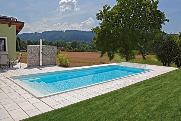 NAUTILUS-Pool APHRODITE 900 x 380 x 150 cm mit Pooltechnik-Paket